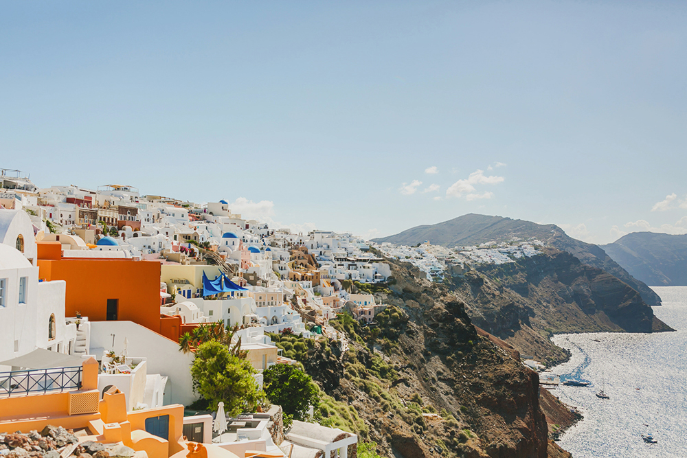 Oia Santorini Imerovigli from Thira