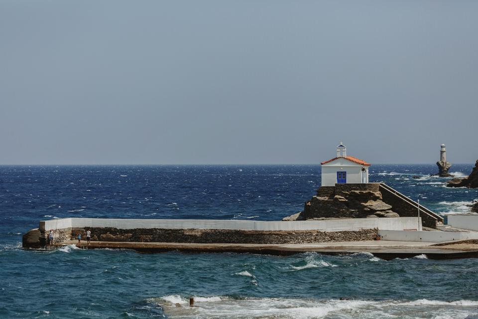 Xora of Andros Island
